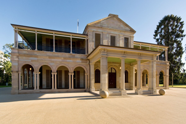 Old Government House, Brisbane, QLD